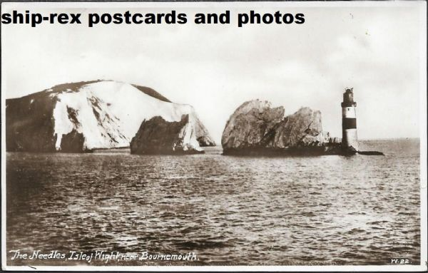 Needles, Isle Of Wight - postcard